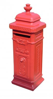 Engelse brievenbus rood