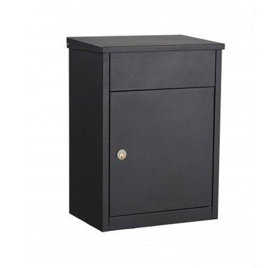 Pakketbrievenbus Allux 500 zwart