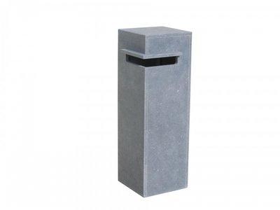 Vasp Oliva brievenbus Belgische blauwe steen